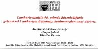 ADD #039;Cumhuriyet Balosu#039; düzenliyor