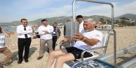 Alanya Belediyesi#039;nden engelsiz plaja örnek proje