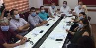 Alanya CHP#039;den maskeli yönetim kurulu toplantısı