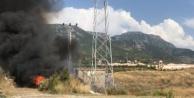 Alanya#039;da korkutan trafo patlaması