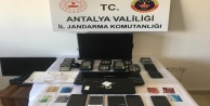 Alanya#039;da kredi kartı dolandırıcılarına operasyon: 5 gözaltı
