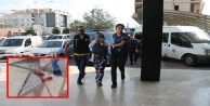 Alanya'da 2 kadın hırsızlık şüphelisi suçüstü yakalandı