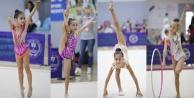 Alanyalı minik cimnastikçiler Türkiye beşincisi oldu
