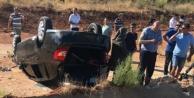 Askeri araç takla attı; 2 askerimiz yaralandı