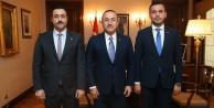 Bakan Çavuşoğlu, ALKÜ Rektörü Kalan#039;ı kabul etti