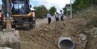 Büyükşehir 16 kilometrelik yolda stabilize çalışması yapıyor
