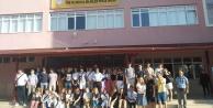 Danimarkalı öğrenciler Proje Alanya Anadolu İmam Hatip Lisesi#039;nde