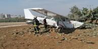 Eğitim uçağı kaza yaptı!