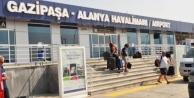 Gazipaşa Alanya Havalimanı 1 milyona koşuyor