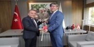 Kazak Büyükelçi Başkan Böceki ziyaret etti