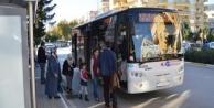 Rize maçına taraftar için özel halk otobüsü seferi