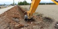 Tekke Mahallesine yeni içme suyu hattı yapıldı