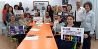 Alanya#039;da 20 STK kadına şiddete karşı birleşti