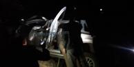 Alanya#039;da araç 200 metrelik uçuruma yuvarlandı