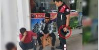 Alanya#039;da okul önünde tabancayla yakalandı