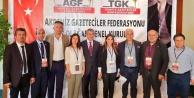 Alanya Gazeteciler Cemiyeti AGF Yönetimi#039;nde