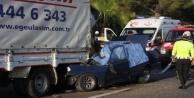 Alanya yolunda kaza: 1 ölü var