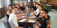 Avrupalı öğrenciler Alanya#039;da
