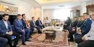 Bakan Çavuşoğlu#039;ndan başkan Yücel#039;e taziye ziyareti