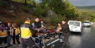 Komşuda feci kaza: 1 ölü, 2 yaralı var