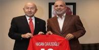 Kulüpler Birliği'nden TFF Başkanı Özdemir'e ziyaret