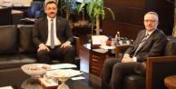 Rektör Kalan, Ağbal#039;dan bütçe desteği istedi
