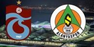 Trabzonspor Alanyaspor maçının 11#039;leri belli oldu