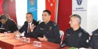 Alanya#039;da polisten huzur toplantısı
