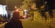 Alanya#039;da yangından çocuğu komşuları kurtardı