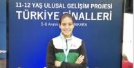 Alanyalı Sena Türkiye ikincisi oldu