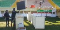 Bahçeşehir Stadı#039;na led ekran kuruluyor