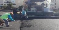 Çıplaklı mahallesine sıcak asfalt çalışması