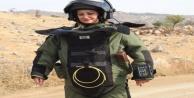 Kadın bomba imha uzmanı şehit oldu
