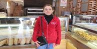 Önceki gün kadın müşterinin 750 lirasını çalan hırsız bu defa kadın çalışanı soyarken yakalandı