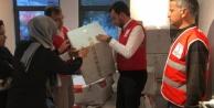 Alanya Ak Parti toplanan yardımları Elazığ#039;a gönderdi