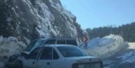 Alanya#039;da buzlanma kazası: 4 yaralı var