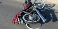 Alanya#039;da kontrolden çıkan motosikletin sürücüsü yaralandı