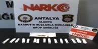 Alanya#039;da sokakta uyuşturucu avı: 5 gözaltı var