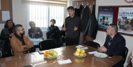 Alanya#039;da ustalar kursiyerlerle buluşuyor