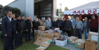 Alanya MHP'den Elazığ'a destek