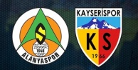Alanyaspor Kayserispor maçının 11#039;leri belli oldu