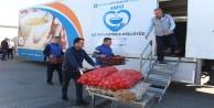 Antalya#039;dan deprem bölgesine arama kurtarma ekibi ve yardım tırı