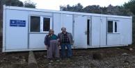 Büyükşehirden ihtiyaç sahiplere konteyner ev