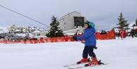 Saklıkentte kayak sezonu açıldı