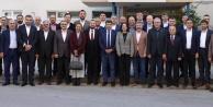Toklu başkanlar toplantısına katıldı