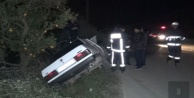 Trafik kazası; 1 ölü, 1 yaralı var