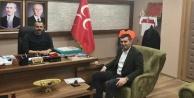 Türkdoğan#039;dan MHP İl Başkanı Durgun#039;a ziyaret
