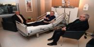 Üst solunum yolu enfeksiyonu geçiren Başkan Böcekin tedavisi sürüyor