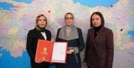 Alanya Ak Parti Kadın Kolları#039;na yeni başkan atandı