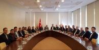 Alanya CHP#039;den Ak Parti#039;ye ziyaret
